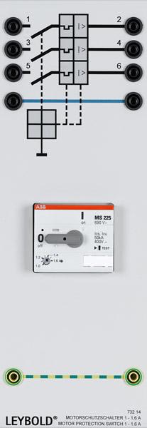 Motorschutzschalter 1-1,6