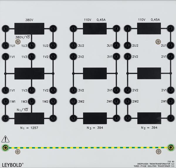 3-Phasen-Transformator 0,3