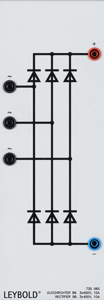 Gleichrichter B6, 3X400 V/10 A