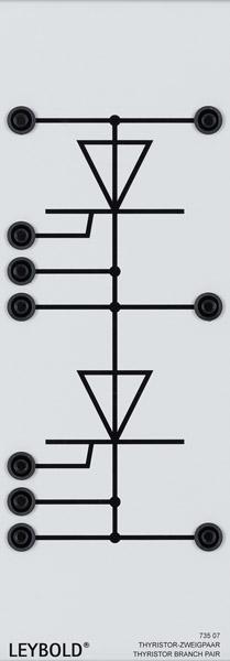 Thyristor Zweigpaar, 1000 V/12 A