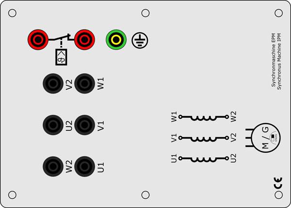 Synchronmaschine Permanent Erregt EPM 0,3