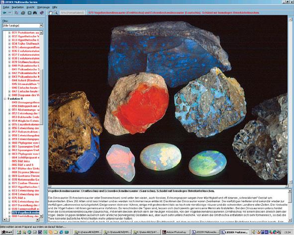 CD: Die Struktur der Materie Teil II: Gesteins- und Mineralkunde
