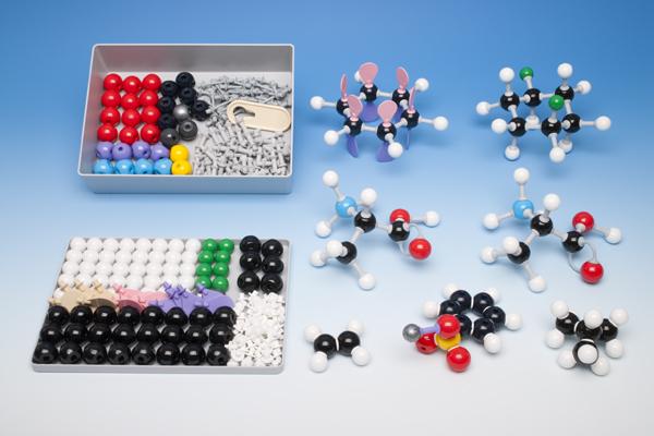 Molekülbaukasten für Lehrer zur Organischen Chemie