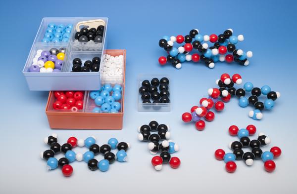 Molekülbaukasten für Lehrer zur Biochemie