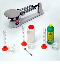 Bestimmung der Dichte einer Flüssigkeit - Bestimmung von Masse und Volumen