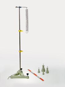 Hookesches Gesetz - Stativaufbau