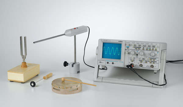 Ton, Klang, Geräusch und Knall - Aufzeichnung mit einem Oszilloskop