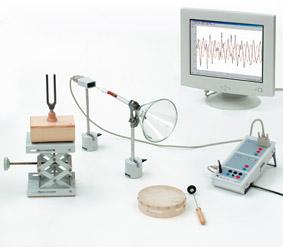 Ausbreitung des Schalls als Druckschwankung – Aufzeichnung mit Sensor- CASSY