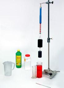 Archimedisches Gesetz - Messung mit Präzisionskraftmesser