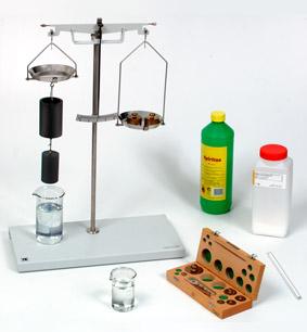 Archimedisches Gesetz - Messung mit Hydrostatischer Waage
