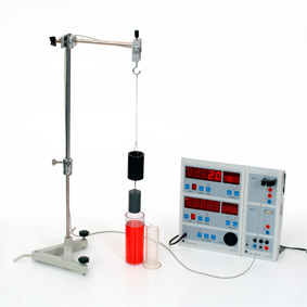 Archimedisches Gesetz - Messung mit Sensor-CASSY und Display
