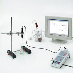 Wärmedämmung in einer Thermosflasche – Messung mit Sensor-CASSY