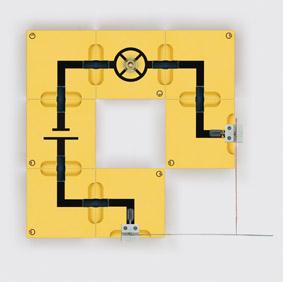Bimetallschalter - Aufbau mit Leiterbausteinen