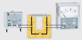 Wärme- und Lichtwirkung des elektrischen Stromes - Aufbau mit Leiterbausteinen