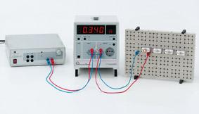 Abhängigkeit der elektrischen Leistung von der Spannung