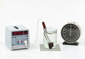 Abhängigkeit der elektrischen Arbeit von der Zeit