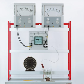 Elektrische Arbeit eines Tauchsieders - Wechselstromzähler
