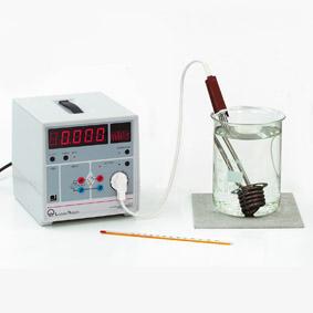 Elektrische Arbeit eines Tauchsieders – Joule- und Wattmeter