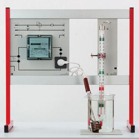 Umwandlung von elektrischer Energie in thermische Energie – Messung mit Wechselstromzähler