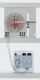 Magnetfeld eines elektromagnetischen Rotors mit Kommutator
