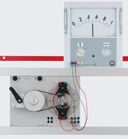 Innenpolgenerator - Messung mit einem Demo-Multimeter