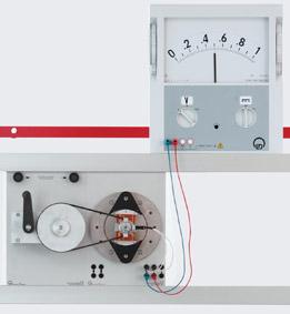 Außenpolgenerator zur Erzeugung einer Wechselspannung – Messung mit einem Demo-Multimeter