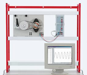 Außenpolgenerator zur Erzeugung einer Wechselspannung – Messung mit Sensor-CASSY