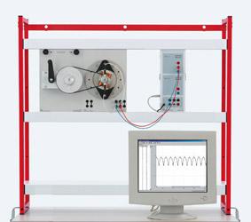 Außenpolgenerator zur Erzeugung einer Gleichspannung – Messung mit Sensor-CASSY