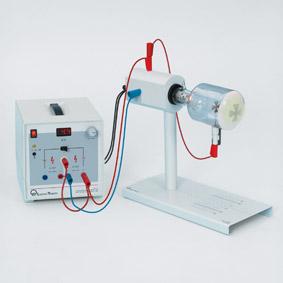 Geradlinige Ausbreitung und Ablenkung von Elektronenstrahlen - Schattenkreuzröhre
