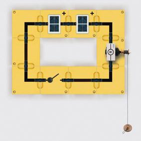 Umwandlung von Lichtenergie in mechanische Energie - Mikromotor