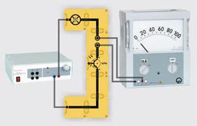 Fototransistor - Aufbau mit Leiterbausteinen