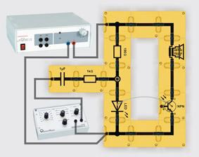 Signalübertragung mit Lichtwellenleiter - Aufbau mit Leiterbausteinen