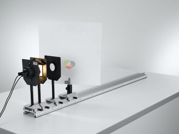 Additive Farbmischung - Dreifachleuchte