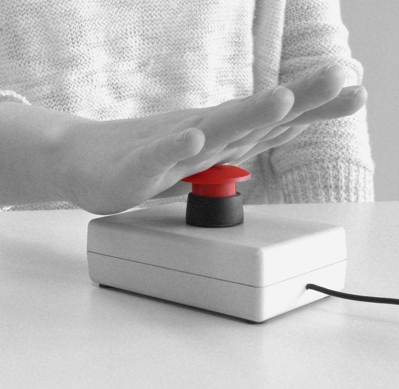 Reaktionstest - Bestimmung der Nervenleitgeschwindigkeit - Digital