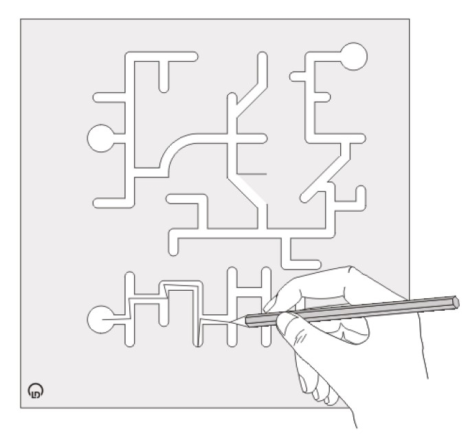 Fingerlabyrinth - Lernfortschritt