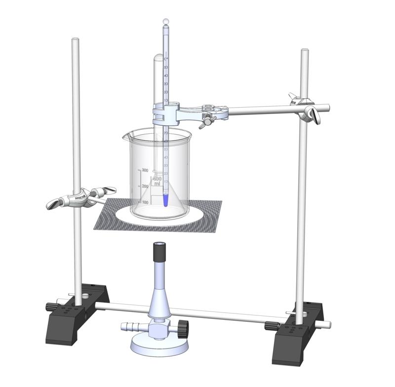 Nachweis gelöster Gase in Trinkwasser