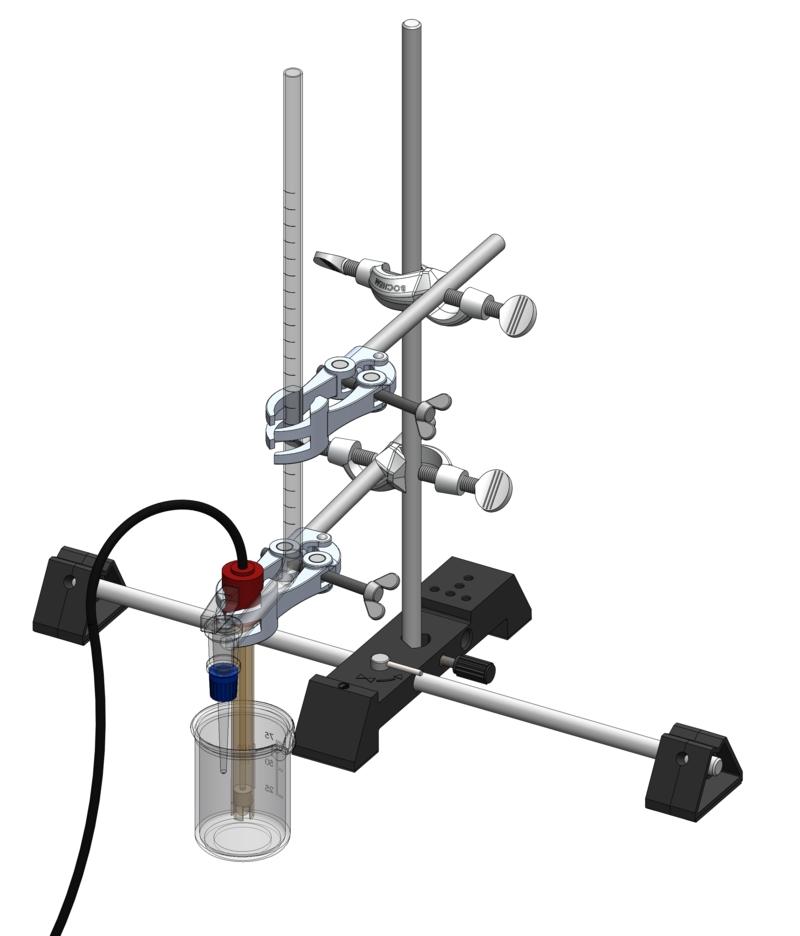 Aufnahme einer Titrationskurve - Digital