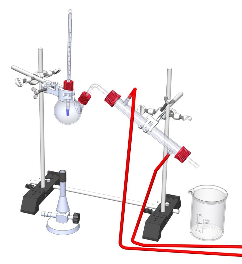 Destillation von Cola
