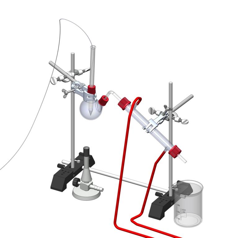 Hydrodestillation zur Gewinnung von Duftstoffen - Digital