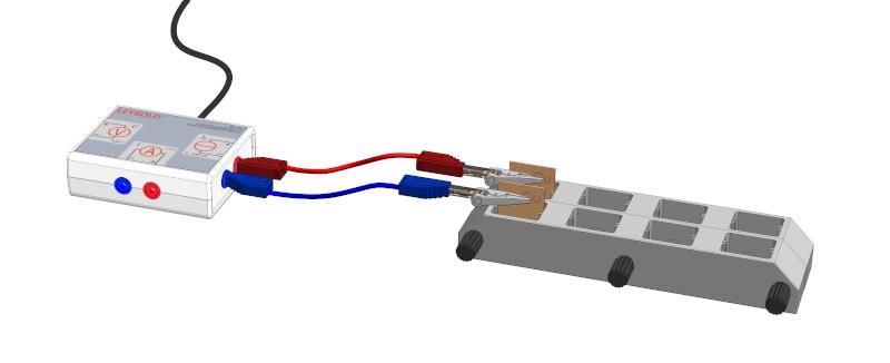 1. Faradaysches Gesetz: Untersuchung der Elekrolysedauer - Digital