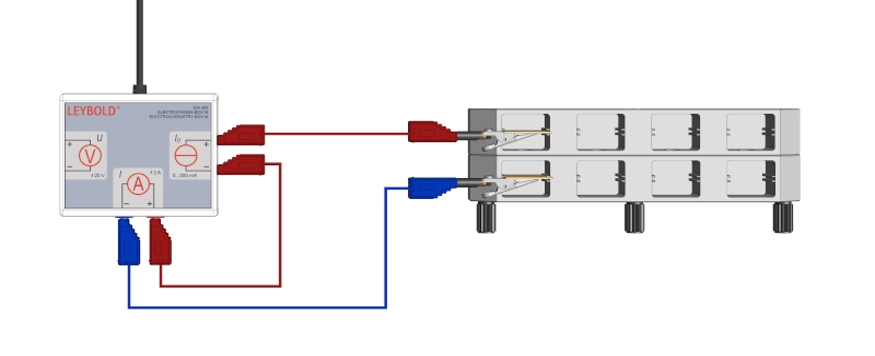 1. Faradaysches Gesetz: Untersuchung der Stromstärke bei der Elekrolyse - Digital