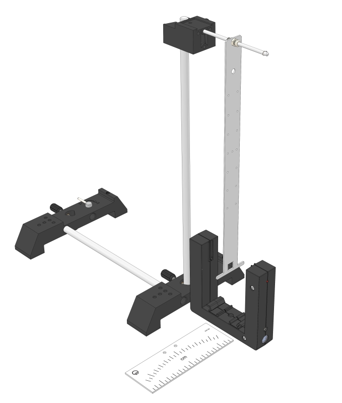 Stabpendel (Physikalisches Pendel) - Digital