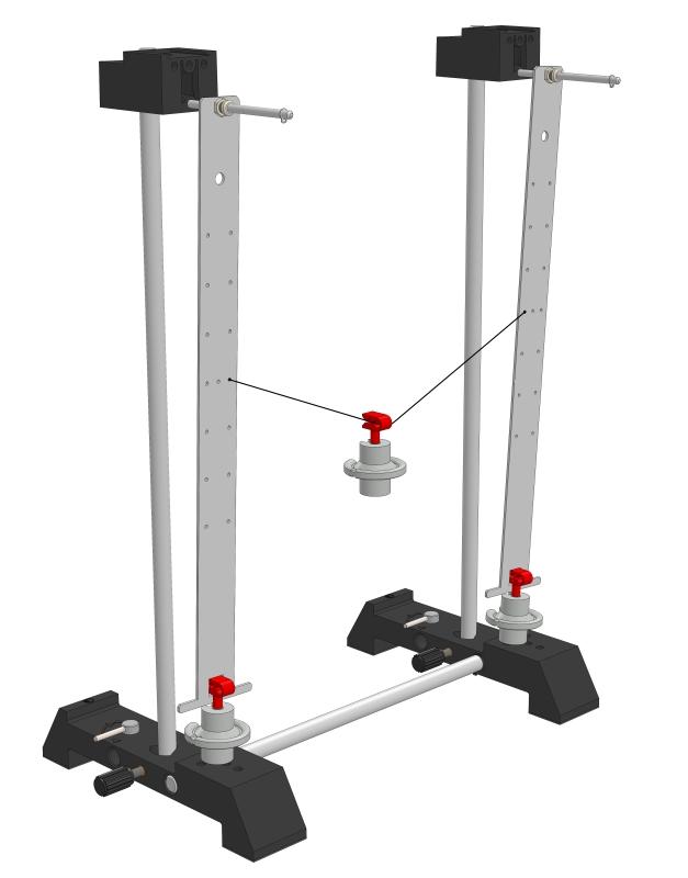 Schwingungen mechanisch gekoppelter Stabpendel