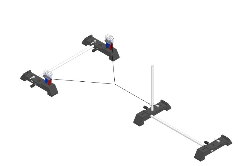 Überlagerung von Seilwellen gleicher Frequenz