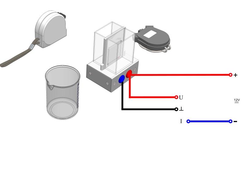 Untersuchung eines Peltier-Elementes als Wärmepumpe - Digital