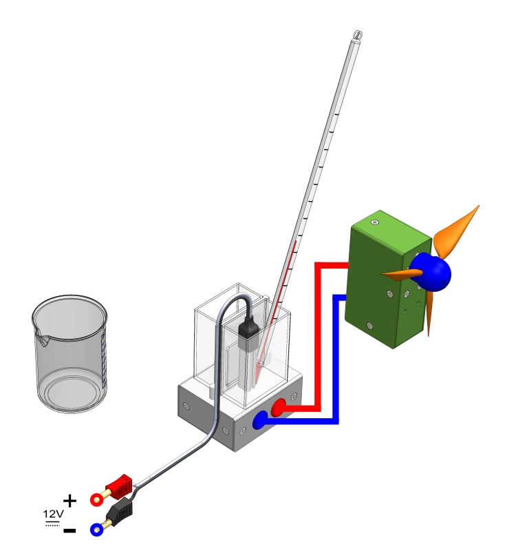 Untersuchung eines Peltier-Elementes als Spannungsquelle