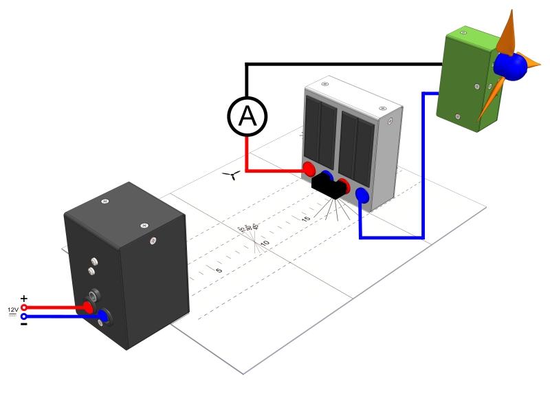 Betreiben eines Motors durch ein Solarmodul
