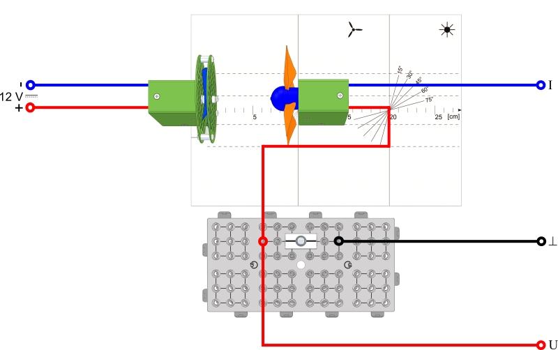 Betreiben einer Lampe durch ein Windrad - Digital