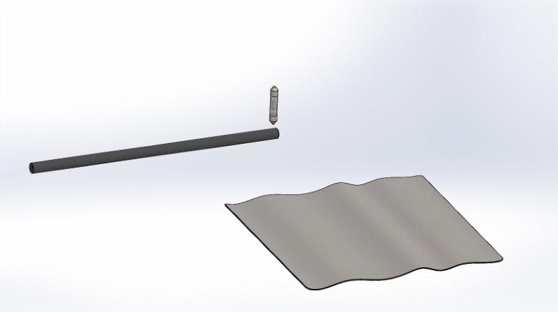 Nachweis von Ladungsarten an Reibstäben mit einer Glimmlampe