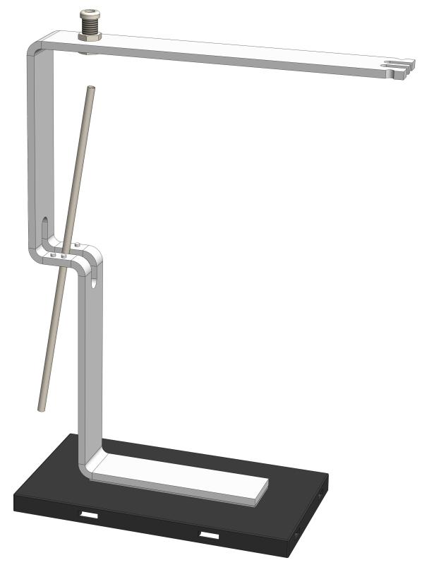 Leitfähigkeitsnachweis mit dem Elektroskop